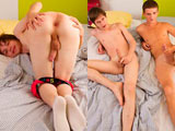 Handsome hung and uncut twinks