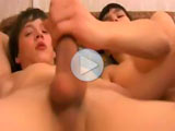 Gay twinks video porn and their first anal orgasm
